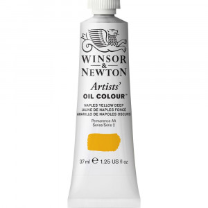 Tinta Óleo Artist 37ml Winsor & Newton S2 425 Naples Yellow Deep
