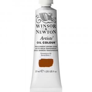 Tinta Óleo Artist 37ml Winsor & Newton S1 648 Transparent Brown Oxide