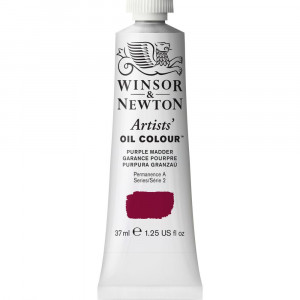 Tinta Óleo Artist 37ml Winsor & Newton S2 543 Purple Madder