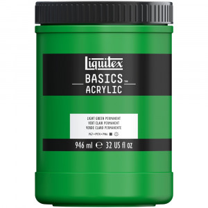 Tinta Acrílica Liquitex Basics 946ml 312 Light Green