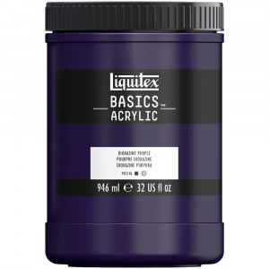 Tinta Acrílica Liquitex Basics 946ml 186 Dioxazine Purple