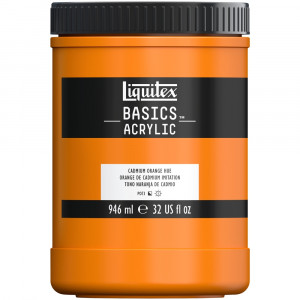 Tinta Acrílica Liquitex Basics 946ml 720 Cadmium Orange
