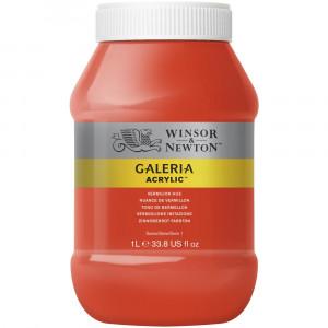 Tinta Acrílica Galeria Winsor & Newton 1L 682 Vermilion