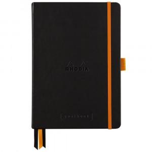 Caderno Goalbook Rhodia A5 Capa Dura Black