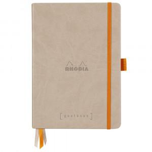 Caderno Goalbook Rhodia A5 Capa Dura Beige