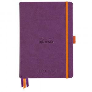Caderno Goalbook Rhodia A5 Capa Dura Purple