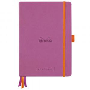 Caderno Goalbook Rhodia A5 Capa Dura Lilac