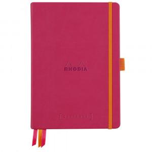 Caderno Goalbook Rhodia A5 Capa Dura Raspberry