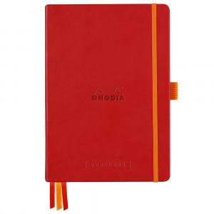 Caderno Goalbook Rhodia A5 Capa Dura Poppy