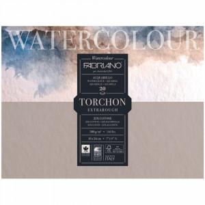 Bloco de Papel Para Aquarela Torchon Fabriano 300g/m² 18x24cm