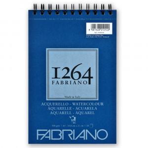 Bloco de Papel Fabriano 1264 Watercolor 300g/m² A5 20 Folhas