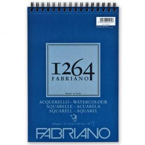 Bloco de Papel Fabriano 1264 Watercolor 300g/m² A4 30 Folhas