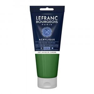 Tinta Acrílica Lefranc & Bourgeois 200ml 542 Green Oxide Chromium