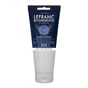 Tinta Acrílica Lefranc & Bourgeois 200ml 800 Mixing White