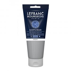 Tinta Acrílica Lefranc & Bourgeois 200ml 710 Silver