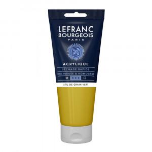 Tinta Acrílica Lefranc & Bourgeois 200ml 730 Stil de Grain Green