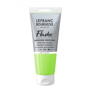 Tinta Acrílica Flashe Lefranc & Bourgeois 80ml S1 554 Bright Green
