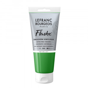 Tinta Acrílica Flashe Lefranc & Bourgeois 80ml S1 558 Brilliant Green
