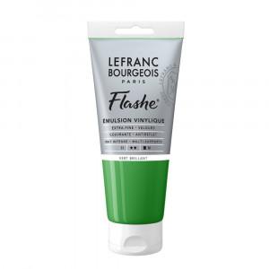 Tinta Acrílica Flashe Lefranc & Bourgeois 80ml S1 558 Brilliant Green