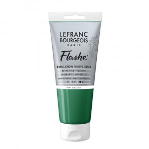 Tinta Acrílica Flashe Lefranc & Bourgeois 80ml S1 504 Chrome Green