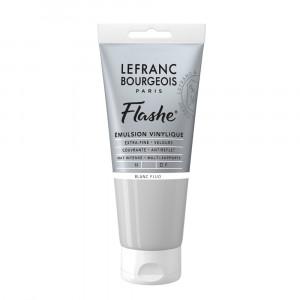 Tinta Acrílica Flashe Lefranc & Bourgeois 80ml S3 818 Fluorescent White