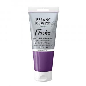 Tinta Acrílica Flashe Lefranc & Bourgeois 80ml S1 826 Mineral Violet