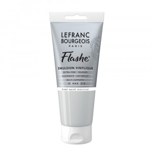 Tinta Acrílica Flashe Lefranc & Bourgeois 80ml S2 827 Pear White Iridescent