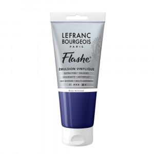 Tinta Acrílica Flashe Lefranc & Bourgeois 80ml S1 036 Phthalocyanine Blue