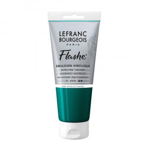Tinta Acrílica Flashe Lefranc & Bourgeois 80ml S1 598 Phthalocyanine Green