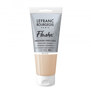 Tinta Acrílica Flashe Lefranc & Bourgeois 80ml S1 254 Pink Grey