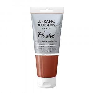 Tinta Acrílica Flashe Lefranc & Bourgeois 80ml S1 306 Red Ochre
