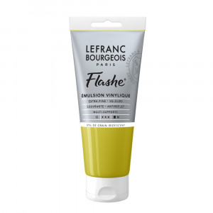 Tinta Acrílica Flashe Lefranc & Bourgeois 80ml S2 838 Stil de Grain Green Iridescent