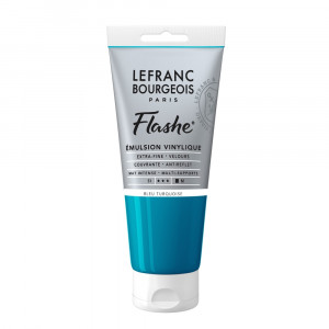 Tinta Acrílica Flashe Lefranc & Bourgeois 80ml S1 050 Turquoise Blue