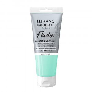 Tinta Acrílica Flashe Lefranc & Bourgeois 80ml S2 587 Water Green