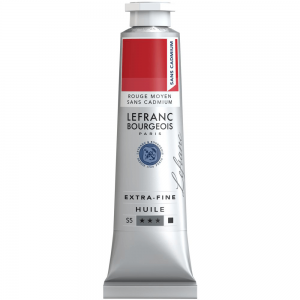 Tinta Óleo Extra Fine L&B 40ml S5 894 Cadmium-Free Red Medium