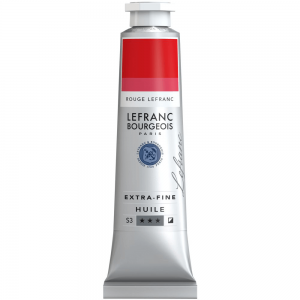 Tinta Óleo Extra Fine L&B 40ml S3 900 Lefranc Red