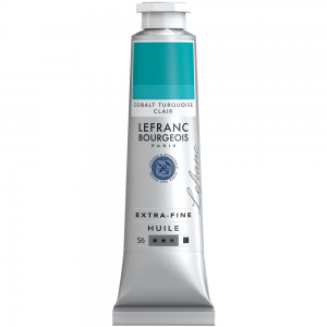Tinta Óleo Extra Fine L&B 40ml S6 725 Cobalt Turquoise Light