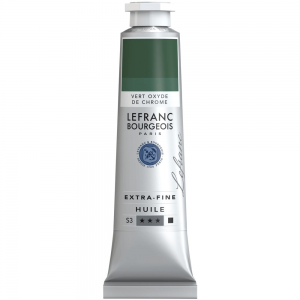 Tinta Óleo Extra Fine L&B 40ml S3 542 Chromium Oxide Green