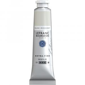 Tinta Óleo Extra Fine L&B 40ml S3 022 Iridescent White