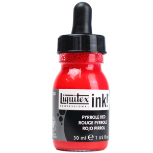 Tinta Acrílica Líquida Liquitex 30ml Pyrrole Red 321
