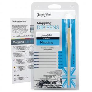 Kit Caligrafia Profissional Penas Mapping Joseph Gillott