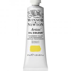 Tinta Óleo Artist 37ml Winsor & Newton S4 653 Transparent Yellow