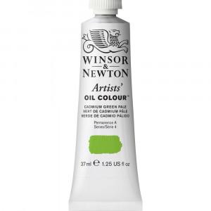 Tinta Óleo Artist 37ml Winsor & Newton S4 084 Cadmium Green Pale