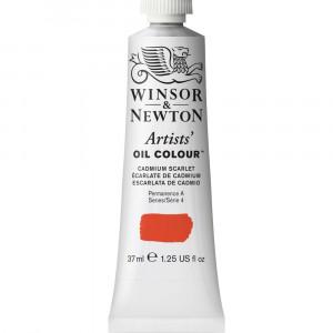 Tinta Óleo Artist 37ml Winsor & Newton S4 106 Cadmium Scarlet