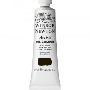 Tinta Óleo Artist 37ml Winsor & Newton S1 331 Ivory Black
