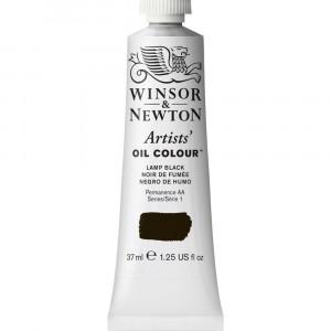 Tinta Óleo Artist 37ml Winsor & Newton S1 337 Lamp Black