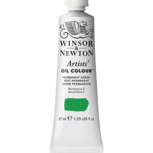 Tinta Óleo Artist 37ml Winsor & Newton S2 481 Permanent Green