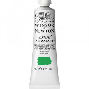 Tinta Óleo Artist 37ml Winsor & Newton S2 483 Permanent Green Light