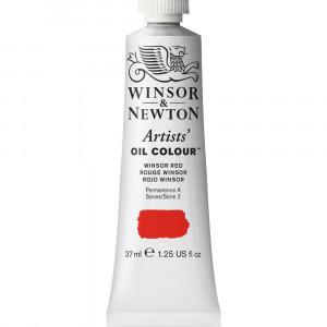 Tinta Óleo Artist 37ml Winsor & Newton S2 726 Winsor Red