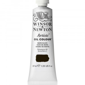 Tinta Óleo Artist 37ml Winsor & Newton S2 386 Mars Black
